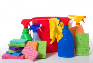 Here are some tips to clean quickly and effectively!
