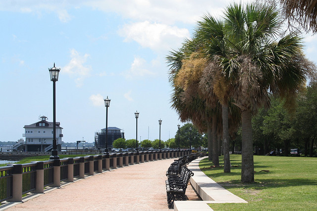 Battery Park in Charleston, SC