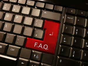 FAQ on keyboard