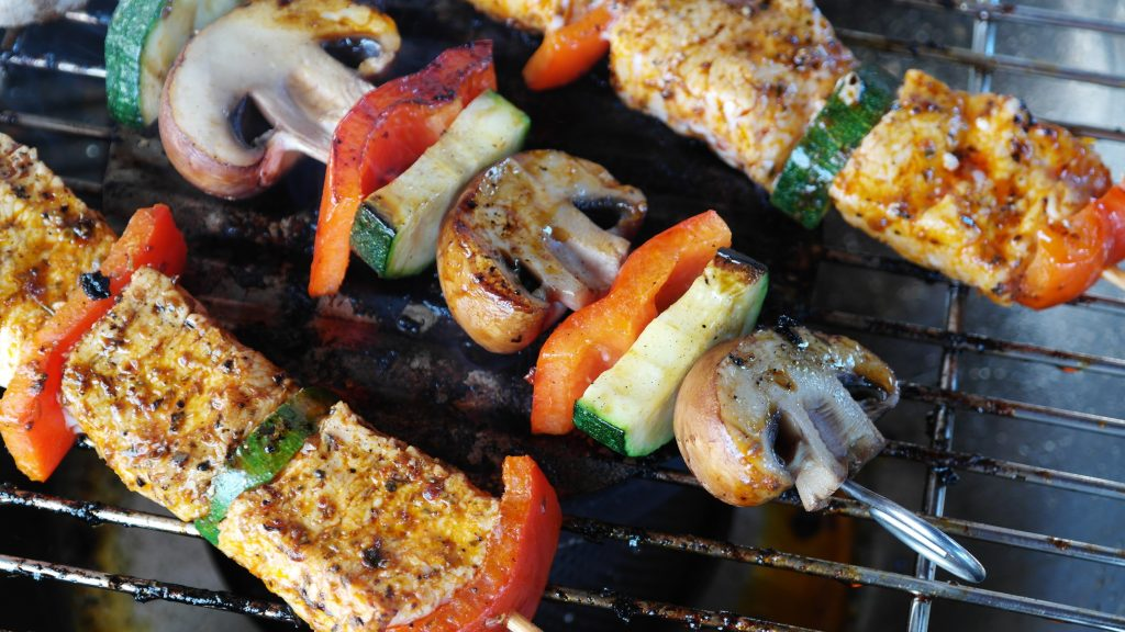 BBQ cooking